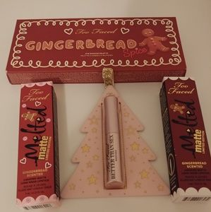 🎄NWT Limited Edition Too Faced Gingerbread Set